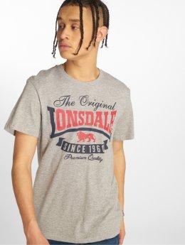 Lonsdale London T-paidat Corrie  harmaa