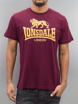 Lonsdale London T-paidat London Logo punainen