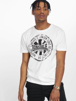 Lonsdale London T-shirt Torlundy bianco