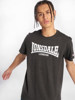 Lonsdale London t-shirt Oulton grijs