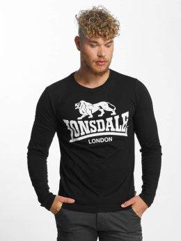 Lonsdale London T-Shirt manches longues Blaich noir