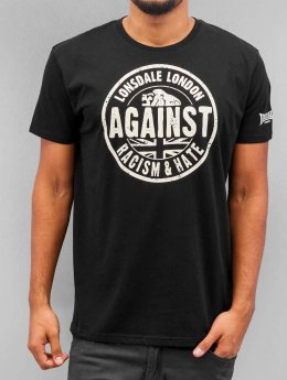 Lonsdale London T-Shirt Against Racism noir
