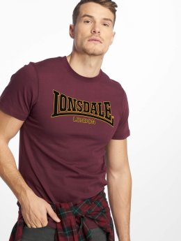 Lonsdale London T-Shirt  pourpre