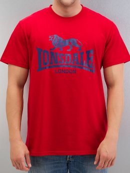 Lonsdale London T-Shirt Logo red