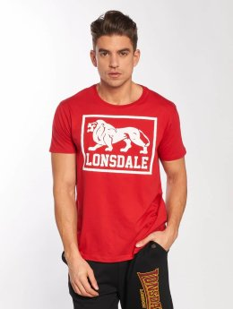 Lonsdale London T-Shirt East Haddon rouge