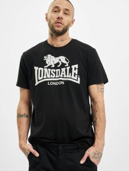 Lonsdale London T-Shirt Logo schwarz