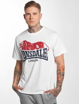 Lonsdale London T-Shirt Berry Head white