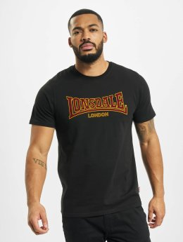 Lonsdale London t-shirt Classic Slim Fit zwart