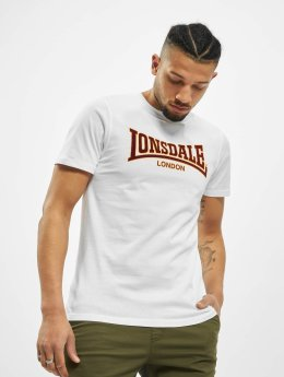 Lonsdale London T-Shirty Classic bialy