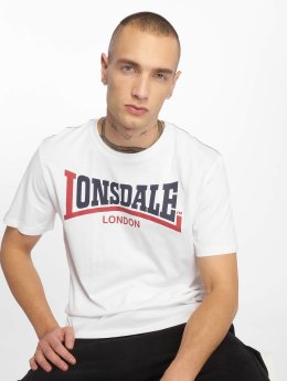 Lonsdale London T-Shirty Two Tone bialy