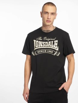 Lonsdale London T-Shirty Martock czarny