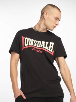 Lonsdale London T-Shirty  Two Tone  czarny