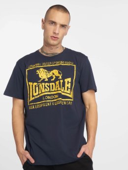 Lonsdale London T-Shirty Hounslow niebieski