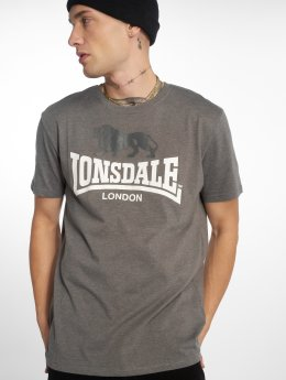 Lonsdale London T-Shirty Gargrave szary