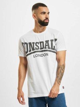 Lonsdale London T-skjorter York hvit