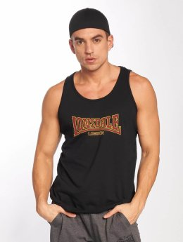 Lonsdale London Tank Tops Singlet musta