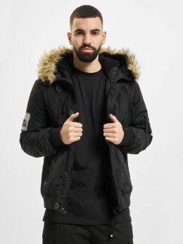 Lonsdale London winterjas  zwart