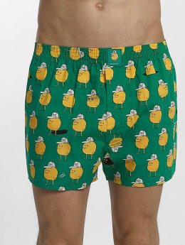 Lousy Livin  Shorts boxeros Zitrone verde