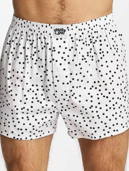 Lousy Livin Boxer Dots blanc