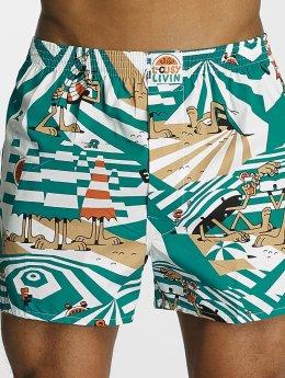 Lousy Livin Boxer Short Beach Dazzle turquoise