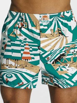 Lousy Livin Boxer Beach Dazzle turquoise
