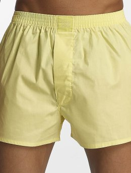 Lousy Livin Boxershorts Plain gelb