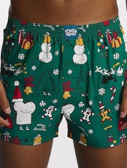 Lousy Livin Boxershorts Merry Merry grün
