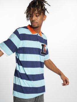 LRG Camiseta polo Giraffe Stripe azul