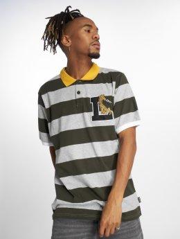 LRG Camiseta polo Giraffe Stripe gris