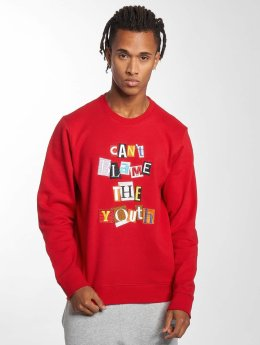 LRG Pullover Can`t Blame The Youth red