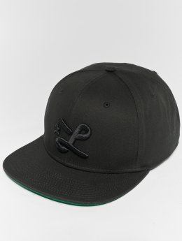 LRG Snapback Caps Down With The L czarny