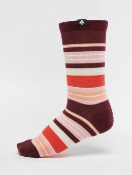 LRG Socken Humbold rot