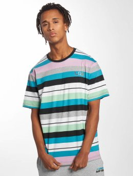 LRG T-paidat Brilliant Youth Stripe Knit kirjava