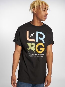 LRG T-paidat Research Icon musta