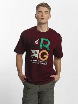 LRG T-paidat Icon T-Shirt punainen