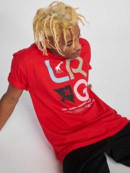 LRG T-paidat Research Icon punainen