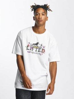 LRG T-paidat Keep Searching valkoinen