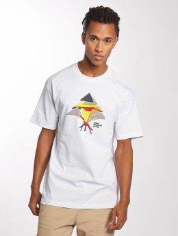 LRG T-paidat Tech Triangles valkoinen