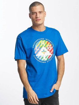 LRG T-Shirt Colors United bleu