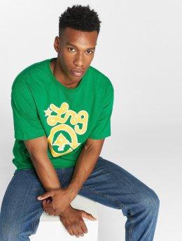 LRG t-shirt Rasta Western groen