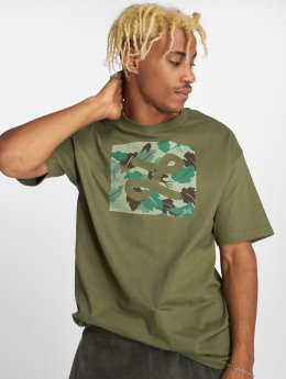 LRG T-shirt Box Camo grön