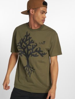 LRG t-shirt Tree Life groen