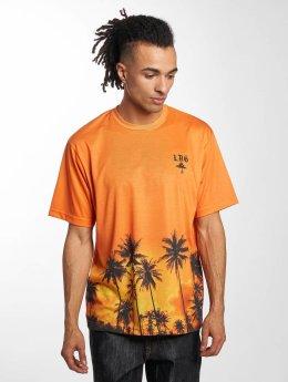 LRG T-Shirt Palm Tree orange