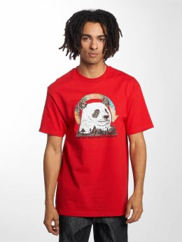 LRG T-Shirt Panda Friend rouge