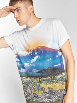 LRG t-shirt Kilimanjaro wit