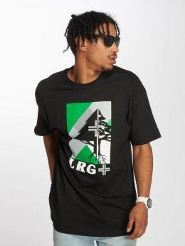 LRG t-shirt The Half Tree zwart
