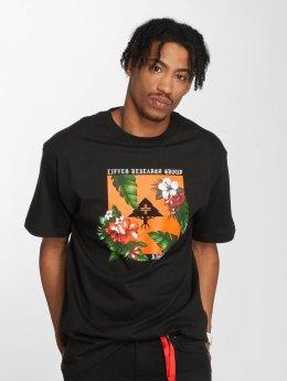 LRG t-shirt Tropics zwart