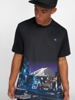 LRG t-shirt Midnight Run zwart
