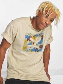 LRG T-shirts Box Camo beige