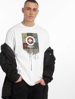 LRG T-shirts Drip Logo hvid